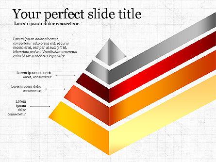 Refraction Through A Prism Diagram, Slide 4, 03848, Shapes — PoweredTemplate.com