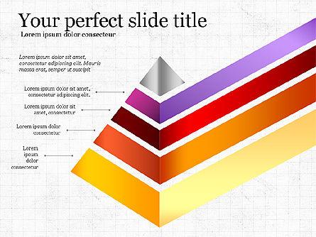 Refraction Through A Prism Diagram, Slide 5, 03848, Shapes — PoweredTemplate.com