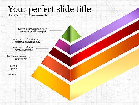 Refraction Through A Prism Diagram, Slide 6, 03848, Shapes — PoweredTemplate.com