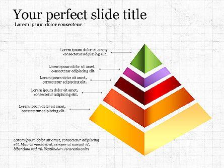 Refraction Through A Prism Diagram, Slide 7, 03848, Shapes — PoweredTemplate.com