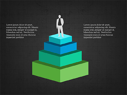 Leadership Presentation Concept, Slide 16, 03850, Presentation Templates — PoweredTemplate.com