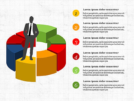 Leadership Presentation Concept, Slide 4, 03850, Presentation Templates — PoweredTemplate.com