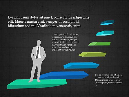 Leadership Presentation Concept, Slide 9, 03850, Presentation Templates — PoweredTemplate.com
