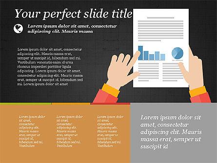 Illustrative Presentation Template, Slide 10, 03851, Presentation Templates — PoweredTemplate.com