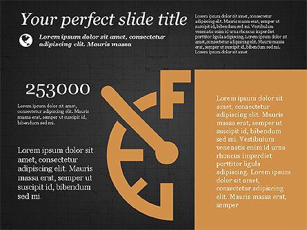 Illustrative Presentation Template, Slide 13, 03851, Presentation Templates — PoweredTemplate.com