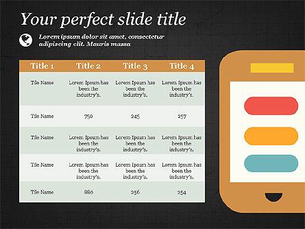 Illustrative Presentation Template, Slide 14, 03851, Presentation Templates — PoweredTemplate.com