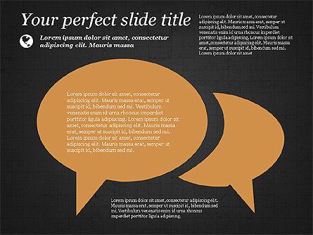 Illustrative Presentation Template, Slide 15, 03851, Presentation Templates — PoweredTemplate.com