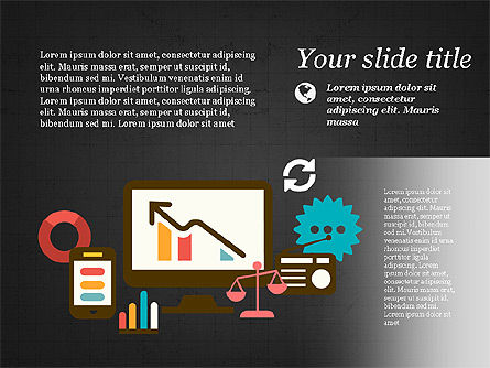 Illustrative Presentation Template, Slide 9, 03851, Presentation Templates — PoweredTemplate.com
