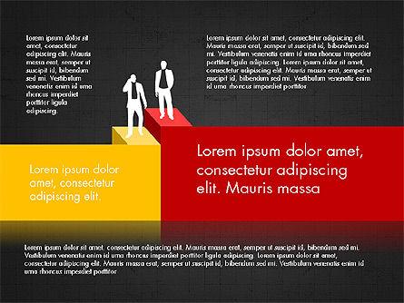 Career Steps Diagram Concept, Slide 16, 03852, Stage Diagrams — PoweredTemplate.com