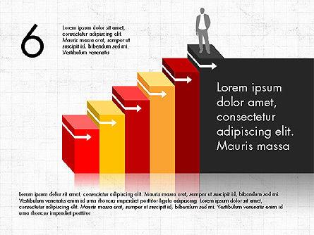 Career Steps Diagram Concept, Slide 7, 03852, Stage Diagrams — PoweredTemplate.com