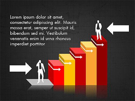 Career Steps Diagram Concept, Slide 9, 03852, Stage Diagrams — PoweredTemplate.com