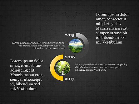 Sphere Timeline and Circles, Slide 10, 03854, Shapes — PoweredTemplate.com