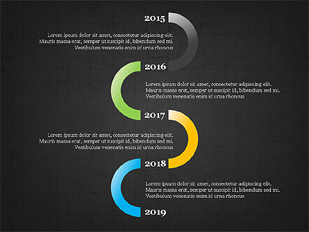 Sphere Timeline and Circles, Slide 12, 03854, Shapes — PoweredTemplate.com
