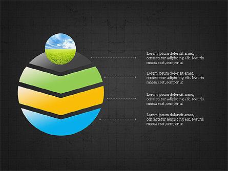 Sphere Timeline and Circles, Slide 13, 03854, Shapes — PoweredTemplate.com