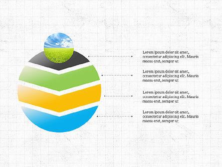 Sphere Timeline and Circles, Slide 5, 03854, Shapes — PoweredTemplate.com