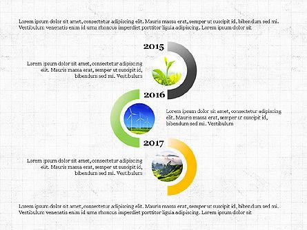 Sphere Timeline and Circles, Slide 8, 03854, Shapes — PoweredTemplate.com