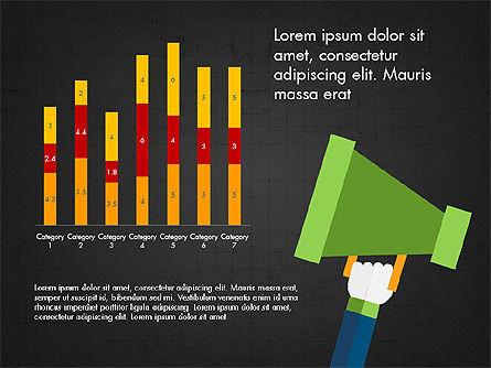 Growth of a Tree Diagram, Slide 12, 03855, Presentation Templates — PoweredTemplate.com