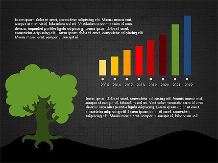Growth of a Tree Diagram, Slide 15, 03855, Presentation Templates — PoweredTemplate.com
