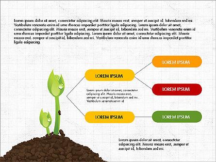 Growth of a Tree Diagram, Slide 6, 03855, Presentation Templates — PoweredTemplate.com