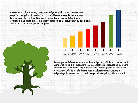Growth of a Tree Diagram, Slide 7, 03855, Presentation Templates — PoweredTemplate.com
