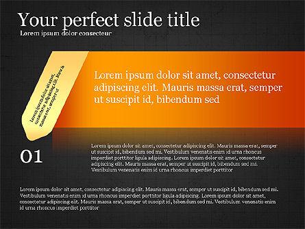 Options Infographics Report, Slide 10, 03860, Stage Diagrams — PoweredTemplate.com