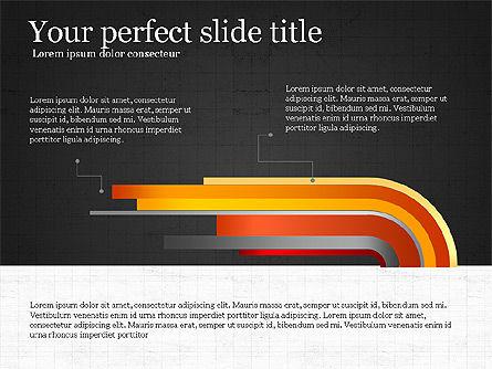 Options Infographics Report, Slide 13, 03860, Stage Diagrams — PoweredTemplate.com