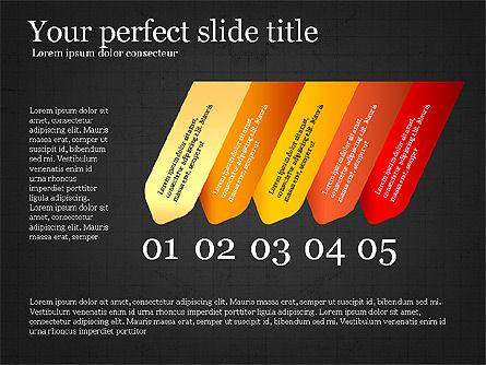 Options Infographics Report, Slide 16, 03860, Stage Diagrams — PoweredTemplate.com