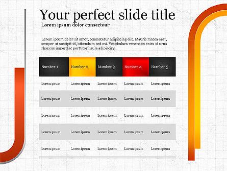Options Infographics Report, Slide 6, 03860, Stage Diagrams — PoweredTemplate.com