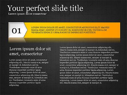 Options Infographics Report, Slide 9, 03860, Stage Diagrams — PoweredTemplate.com
