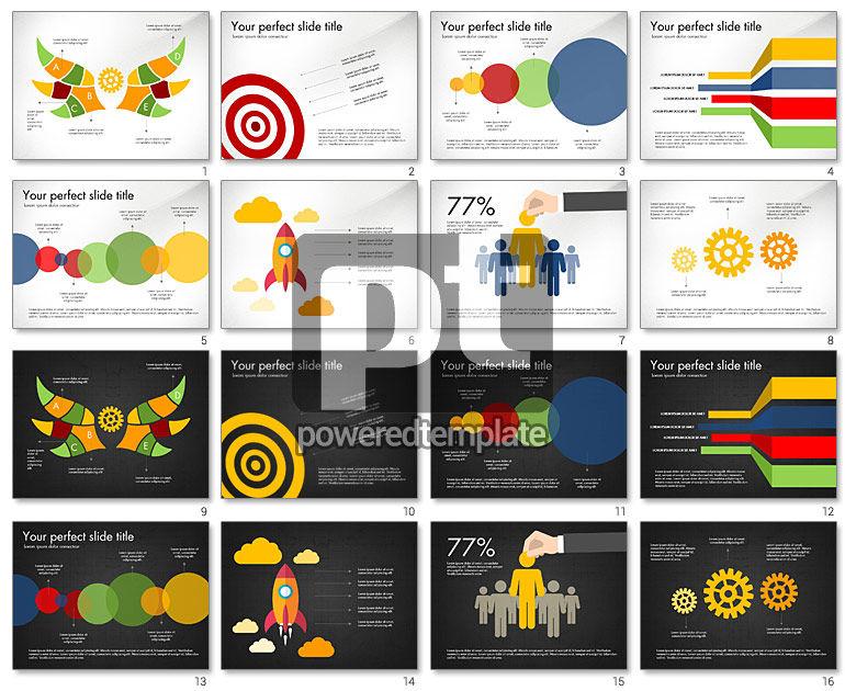 Modern Diagram and Charts Slide Deck