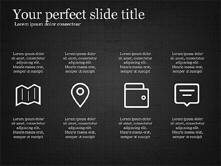 Thin Lines Presentation Template, Slide 10, 03864, Presentation Templates — PoweredTemplate.com