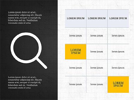 Thin Lines Presentation Template, Slide 11, 03864, Presentation Templates — PoweredTemplate.com