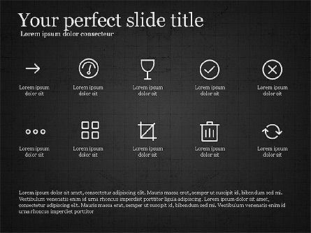Thin Lines Presentation Template, Slide 12, 03864, Presentation Templates — PoweredTemplate.com