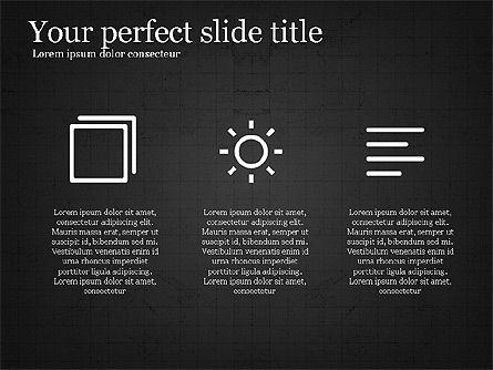 Thin Lines Presentation Template, Slide 14, 03864, Presentation Templates — PoweredTemplate.com