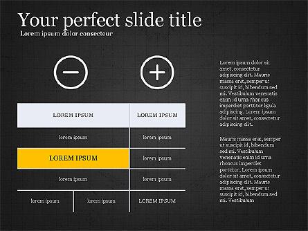 Thin Lines Presentation Template, Slide 15, 03864, Presentation Templates — PoweredTemplate.com