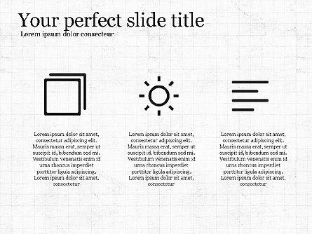 Thin Lines Presentation Template, Slide 6, 03864, Presentation Templates — PoweredTemplate.com