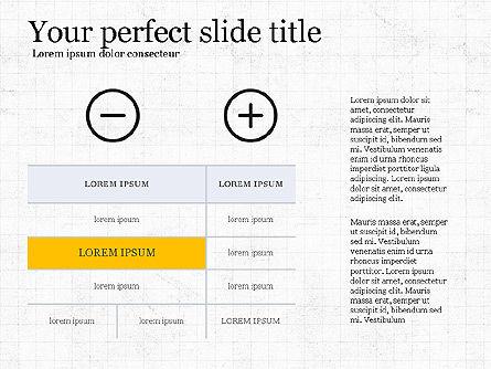 Thin Lines Presentation Template, Slide 7, 03864, Presentation Templates — PoweredTemplate.com