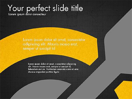 Marketing Infographics Concept, Slide 12, 03865, Presentation Templates — PoweredTemplate.com