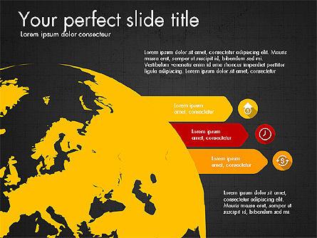 Marketing Infographics Concept, Slide 14, 03865, Presentation Templates — PoweredTemplate.com