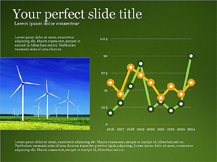 Alternative Energy Presentation Template, 03866, Presentation Templates — PoweredTemplate.com