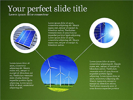 Alternative Energy Presentation Template, Slide 2, 03866, Presentation Templates — PoweredTemplate.com