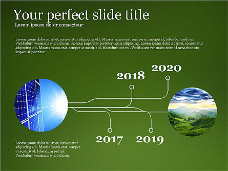 Alternative Energy Presentation Template, Slide 3, 03866, Presentation Templates — PoweredTemplate.com