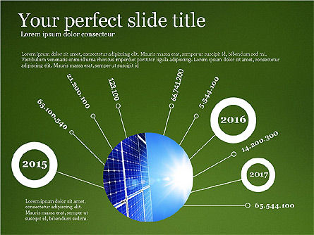Alternative Energy Presentation Template, Slide 4, 03866, Presentation Templates — PoweredTemplate.com