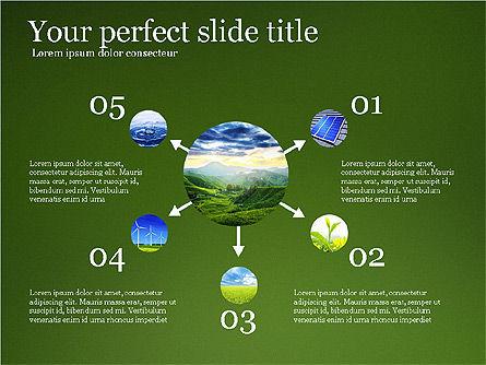 Alternative Energy Presentation Template, Slide 5, 03866, Presentation Templates — PoweredTemplate.com