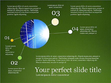 Alternative Energy Presentation Template, Slide 7, 03866, Presentation Templates — PoweredTemplate.com