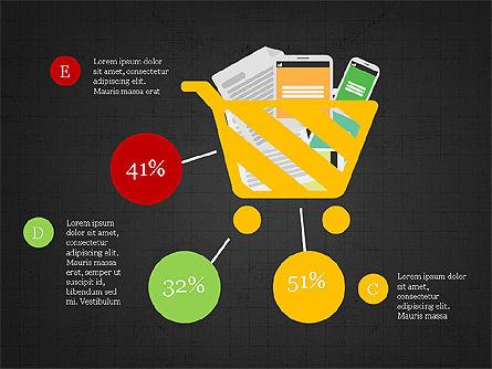 Shopping Infographics, Slide 10, 03867, Infographics — PoweredTemplate.com