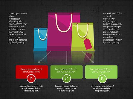 Shopping Infographics, Slide 11, 03867, Infographics — PoweredTemplate.com