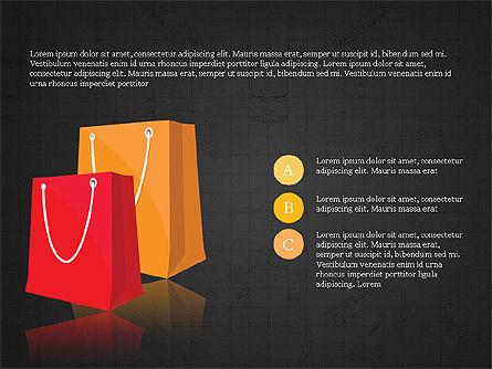 Shopping Infographics, Slide 12, 03867, Infographics — PoweredTemplate.com
