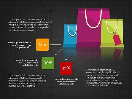 Shopping Infographics, Slide 16, 03867, Infographics — PoweredTemplate.com