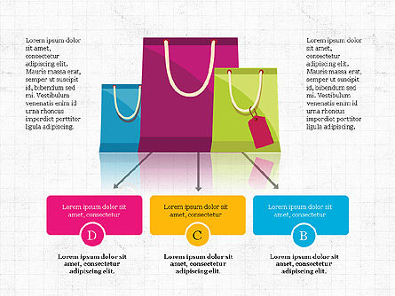 Shopping Infographics, Slide 3, 03867, Infographics — PoweredTemplate.com